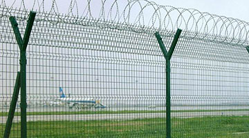 airport fence high deterent force