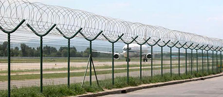 airport high security fence