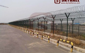 Airport High Security Mesh Fencing